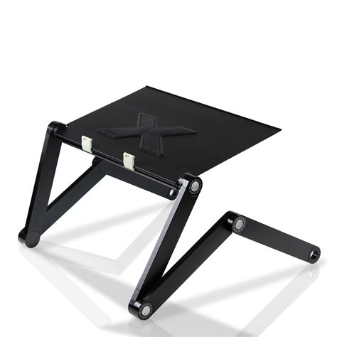 Furinno Adjustable Laptop Desk Furinno Adjustable Multifunctional Laptop Desk W Large Usb Fan Black Furinno