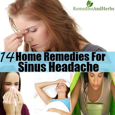 14 home remedies for sinus headache diy home remedies
