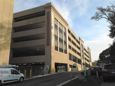 downtown naperville parking water street district parking garage to open naperville sun