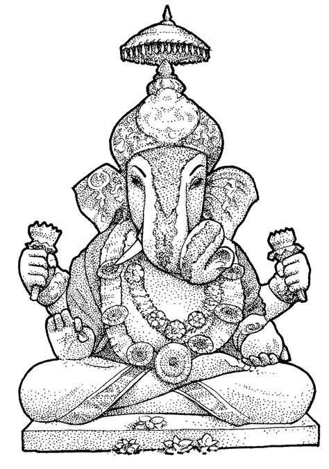 Ganpati Coloring Pages colouring pages of ganesh ji coloring pages