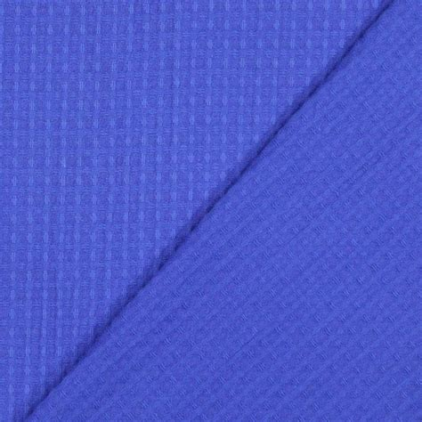 waffle piqu 233 royal blue piquefavorable buying at our shop