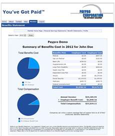 employee benefits statement template paypro pulse edition read the news