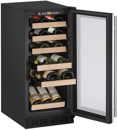 panel ready wine cooler u line 15 quot panel ready wine cooler u 1215wcint 00b