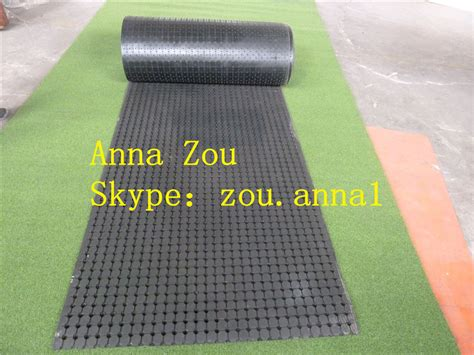 china rubber mat coil perforated rubber mat anti slip