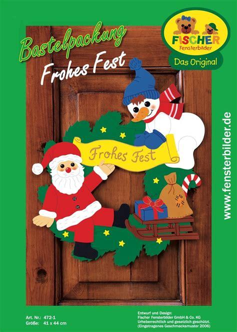 Fensterbilder Weihnachten Basteln Papier Vorlagen by Fensterbild Bastelvorlage Frohes Fischer