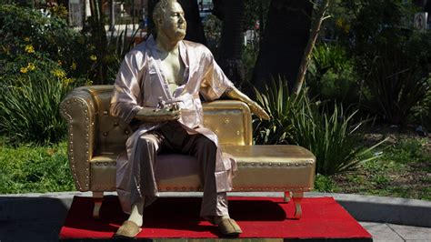 the casting couch harvey weinstein casting couch statue debuts on