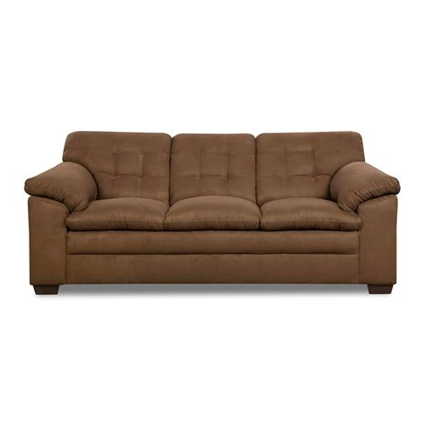 cushion couch simmons brown griffin 3 cushion contemporary sofa