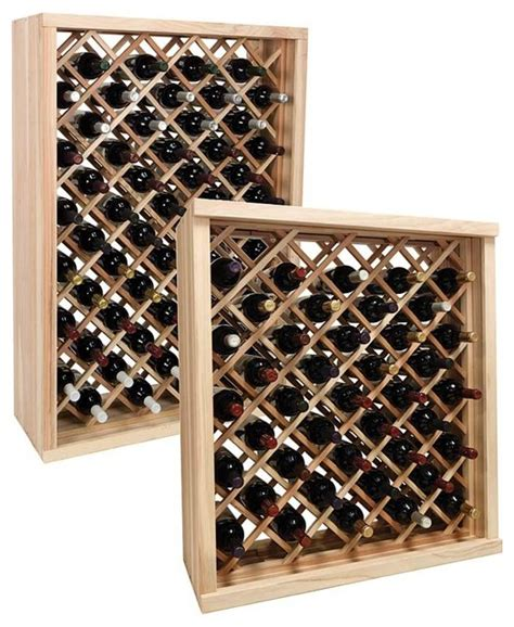 Wine Rack vintner series wine rack individual bin wine rack traditional wine racks