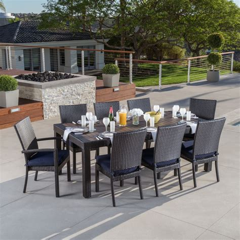 patio dining sets furniture the home depot pertaining to