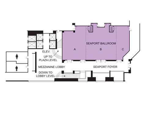 venue floor plans seaport ballroom event venue seaport hotel world trade