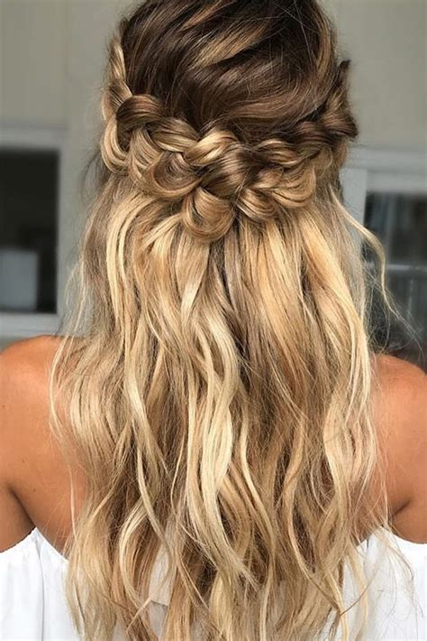 loose curl hairstyles for weddings 39 braided wedding hair ideas you will love braided