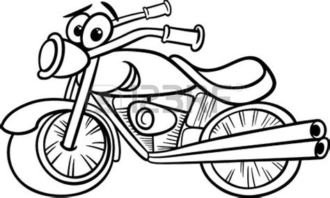 cartoon motorcycle coloring pages motorcycle black and white clipart cliparting com