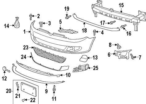 vw jetta front bumper diagram vw jetta stock wheels