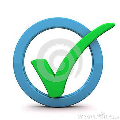 green tick ring royalty free stock image image 29777916