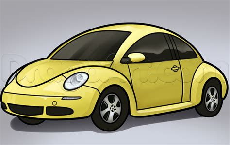 volkswagen bug drawing how to draw a vw beetle volkswagen beetle by