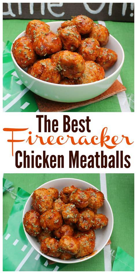 firecracker chicken meatballs recipe    web chicken meatballs