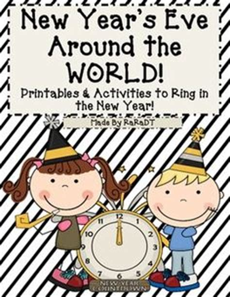 new year theme preschool activities new year s around the world printables