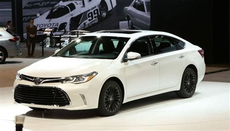 2017 toyota avalon release date reviews price specs