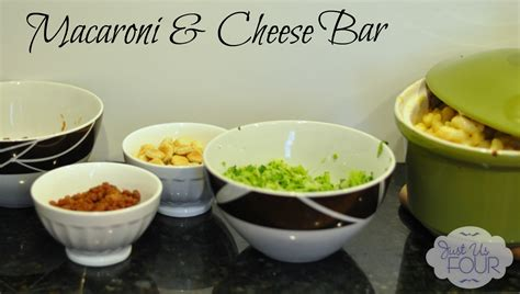macaroni bar toppings let s get together for dinner planahead my suburban kitchen