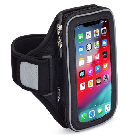 sporteer entropy modular iphone x armband for running and fitness
