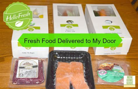 fresh food delivery cooking with hello fresh