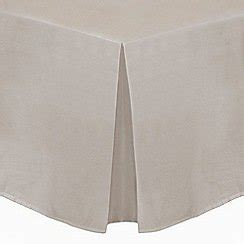 Silver Valance Sheet silver cotton rich percale valance sheet now only 38 was 52 save 27 toys bargain ireland