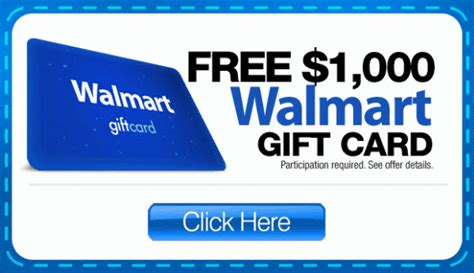 Gift Cards For Walmart - free 1000 walmart gift card