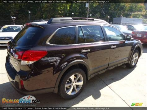 brilliant brown pearl subaru 2013 subaru outback 2 5i limited brilliant brown pearl
