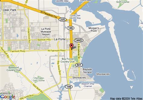 la porte texas map map of candlewood suites laporte la porte