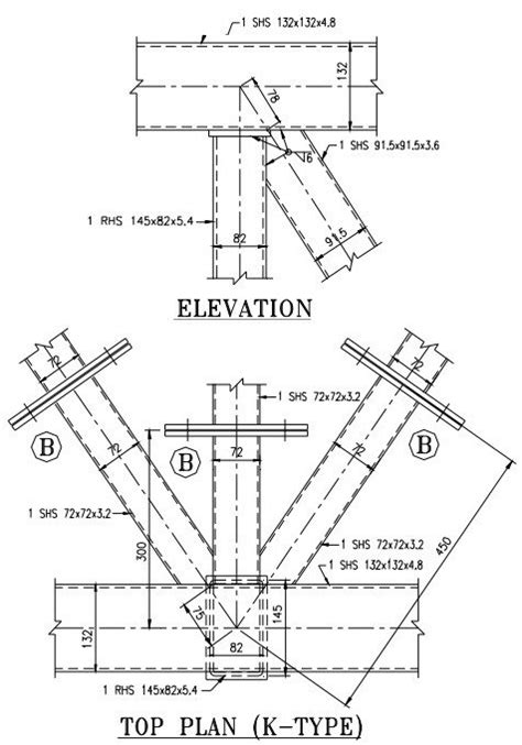 hollow structural section connections and trusses typical joint detailing of steel hollow sections types of