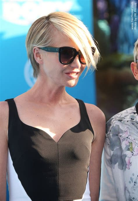portia haircut portia de rossi s fun short hair