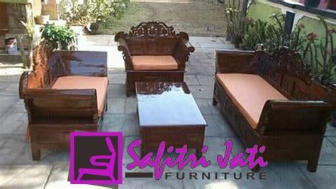 Kursi Tamu Set Sofa Pink Chester Mewah Cantik Meja Teras Makan Bangku kursi tamu jati jepara model madura safitri jati furniture