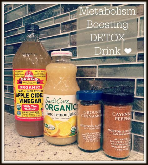 Detox Drinks To Speed Up Metabolism by Metabolism Boosting Detox Drink Obsessed By Portia