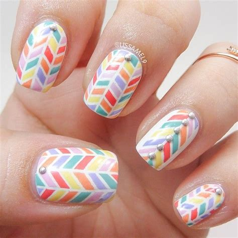 Striping Nailart by lissamel9 not the easiest thing to do with