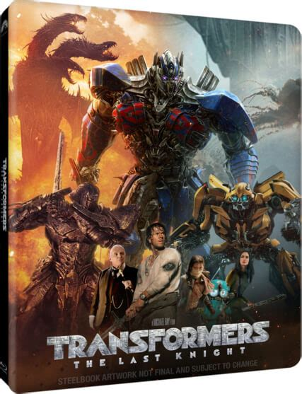 Transformers The Uk Exclusive Steelbook transformers the last 4k ultra hd zavvi uk