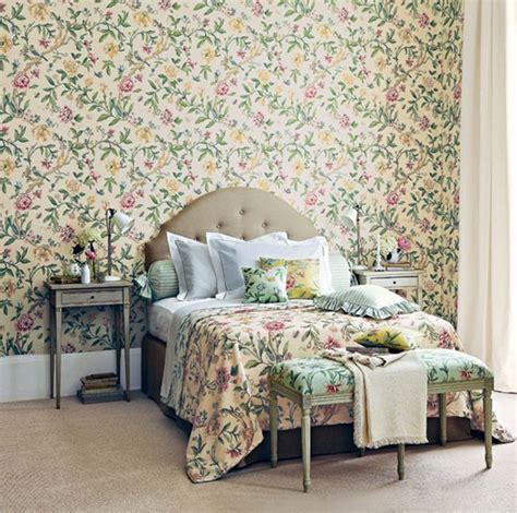 flower wallpaper designs for bedrooms floral small bedroom with wallpaper theme