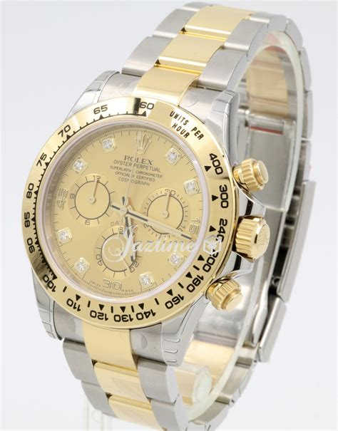 Rolex Daytona Cosmograph 116503 Two Tones Yellow Gold Best Clone rolex cosmograph daytona 116503 chagne tachymetre yellow gold stainless steel oyster