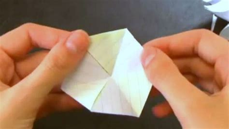 Origami Physics - try this physics defying origami trick