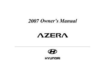 service manual pdf 2007 hyundai azera transmission service repair manuals 2007 hyundai download 2007 hyundai azera owner s manual pdf 308 pages