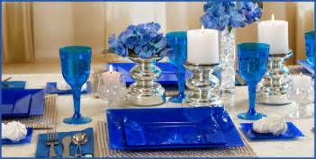 solid royal blue tableware 4