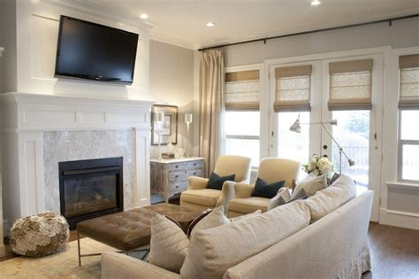 Living Room Layout With Fireplace by Tv Fireplace Transitional Living Room