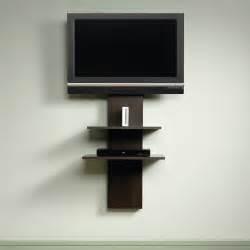 mounted tv stands sauder beginnings entertainment cinnamon cherry wall mount