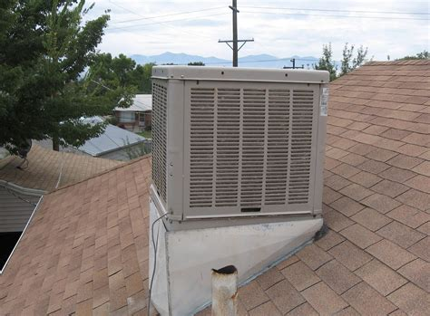 why are air conditioners on roofs in arizona and easy will an air conditioner interfere with a