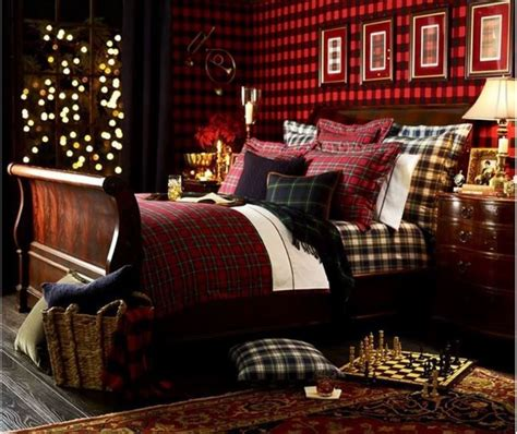 ralph lauren bedroom ralph lauren inspired tartan plaid bedroom