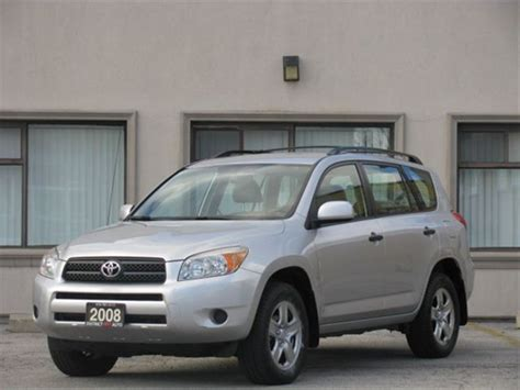Toyota Extended Warranty 2008 Toyota Rav4 4wd Extended Warranty Toronto Ontario
