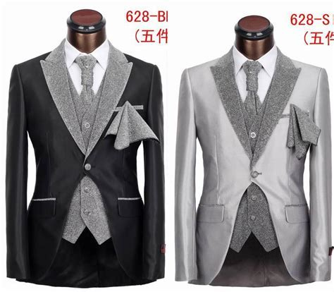 New Fashion Five Pieces Slim Fit Tuxedo Suit High Grade