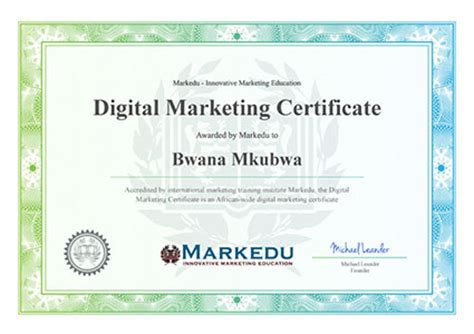 Digital Marketing Certificate Programs 1 by The Digital Marketing Masterclass In Nairobi On 11 12