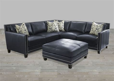 Blue Leather Sofa Navy Blue Leather Sectional Sofa Cleanupflorida