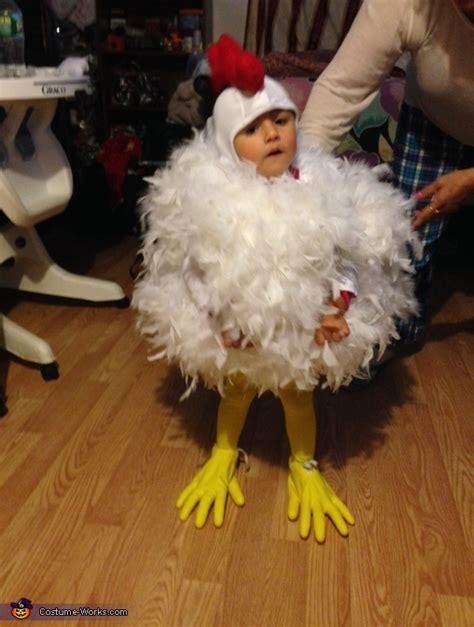 chick chick chicken baby halloween costume photo