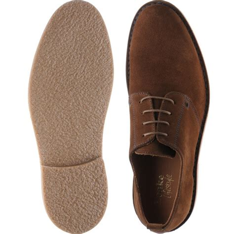 loake shoes loake lifestyle mojave derby shoe in brown